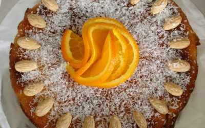 Recept voor Vaderdag – Citrusvruchten kokosgebak