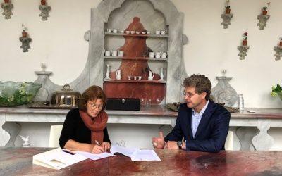 Museum De Buitenplaats en Rabobank ondertekenen partnership