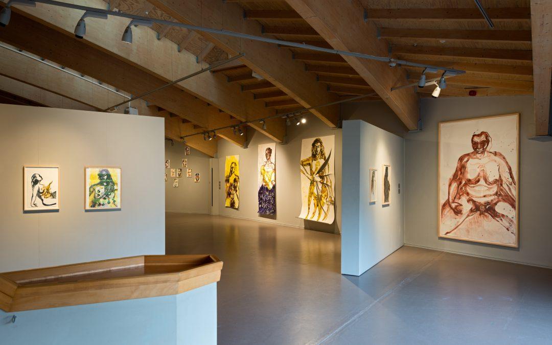 Museum De Buitenplaats verlengt solo-expositie Aline Thomassen